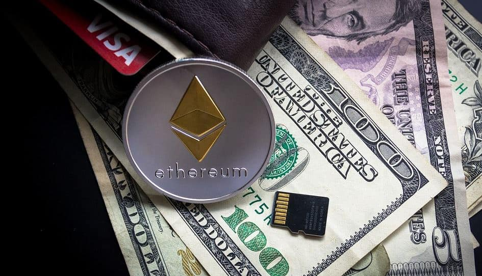 dollars and ethereum