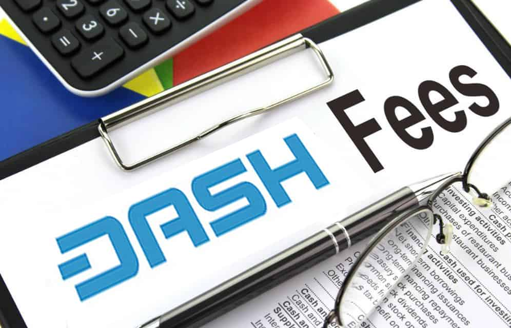 dash fees and how to buy it