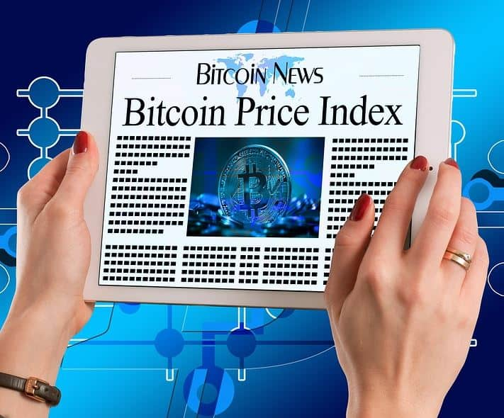 bitcoin price index on device