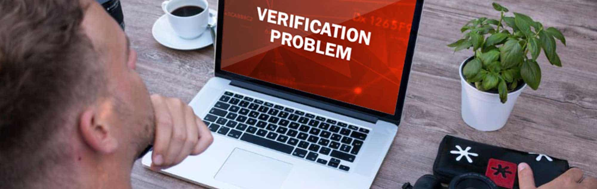 verification problem of the platform